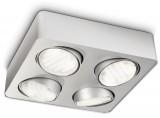 – Ecomoods – 57954/48 silver ceiling