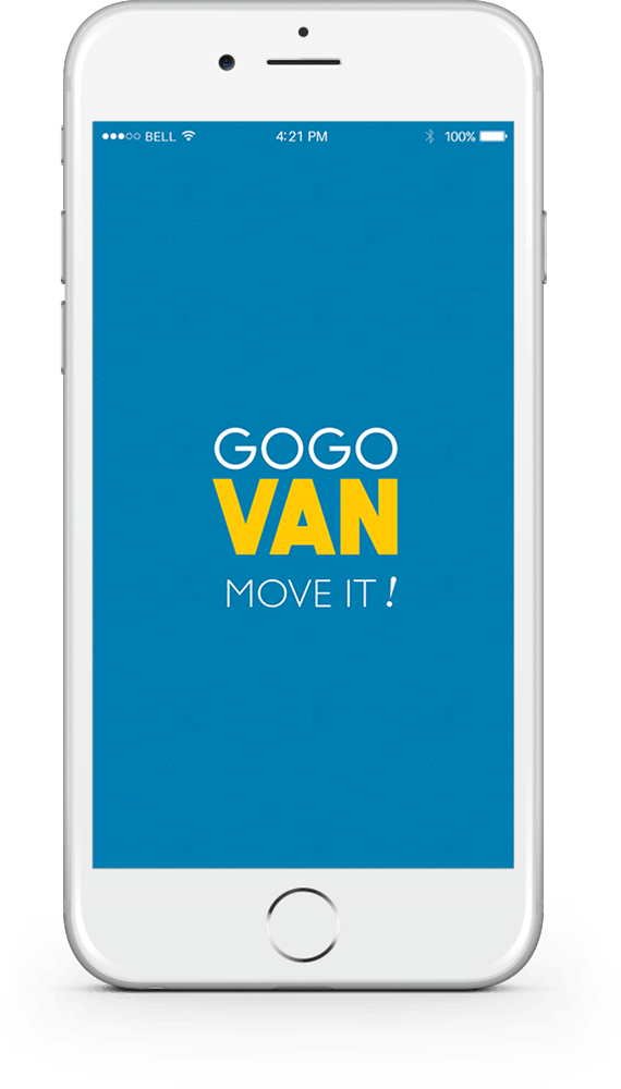iphone GoGoVan Apps