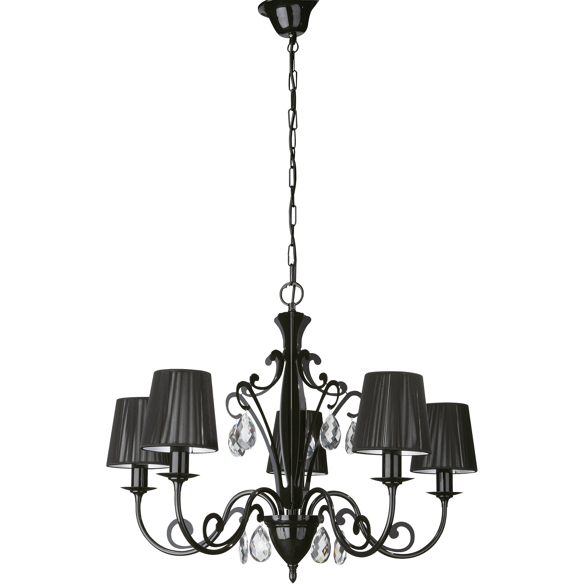 - Roomstylers 36680 Black pendant