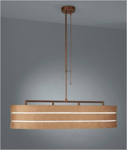 - Roomstylers -QPG327 Brown Pendant