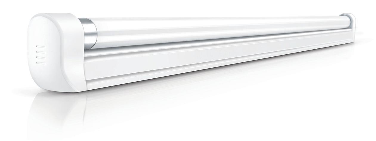 -燈槽支架連光管T5-TCH086-TL5-8W-1呎