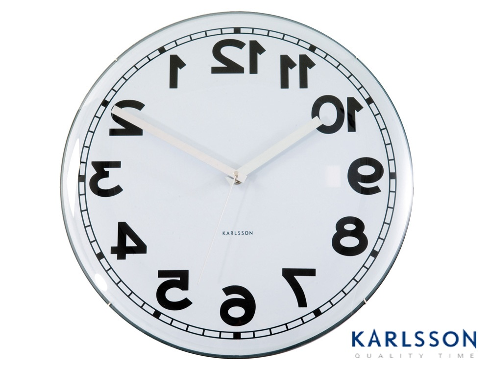 - KA4215 -Wall Clock Dome Reverse