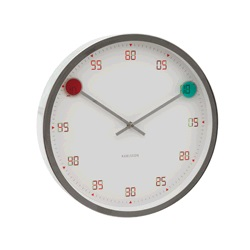 - KA5349 - Wall Clock Magic Steel