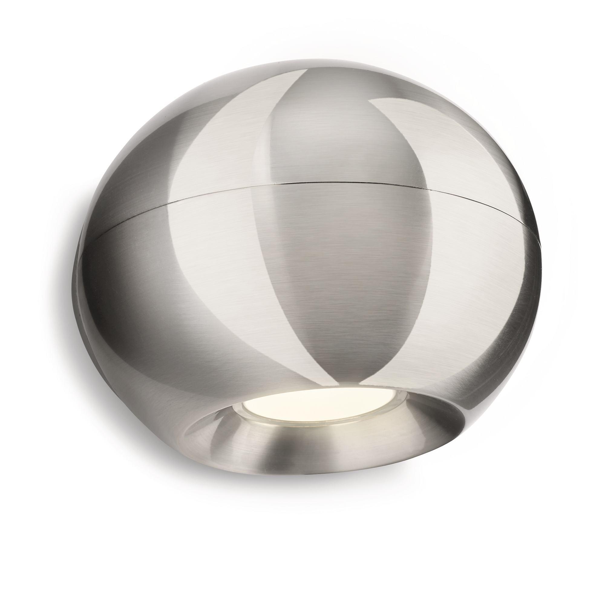 -Ledino 33610-Chrome Wall Lamp