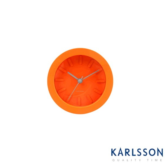 -KA5306OR-Sweetie Pi Orange Plastic-Alarm Clock
