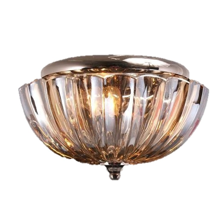-TTSC630161-25CM-Umbrella Crystal/ Brown Ceiling