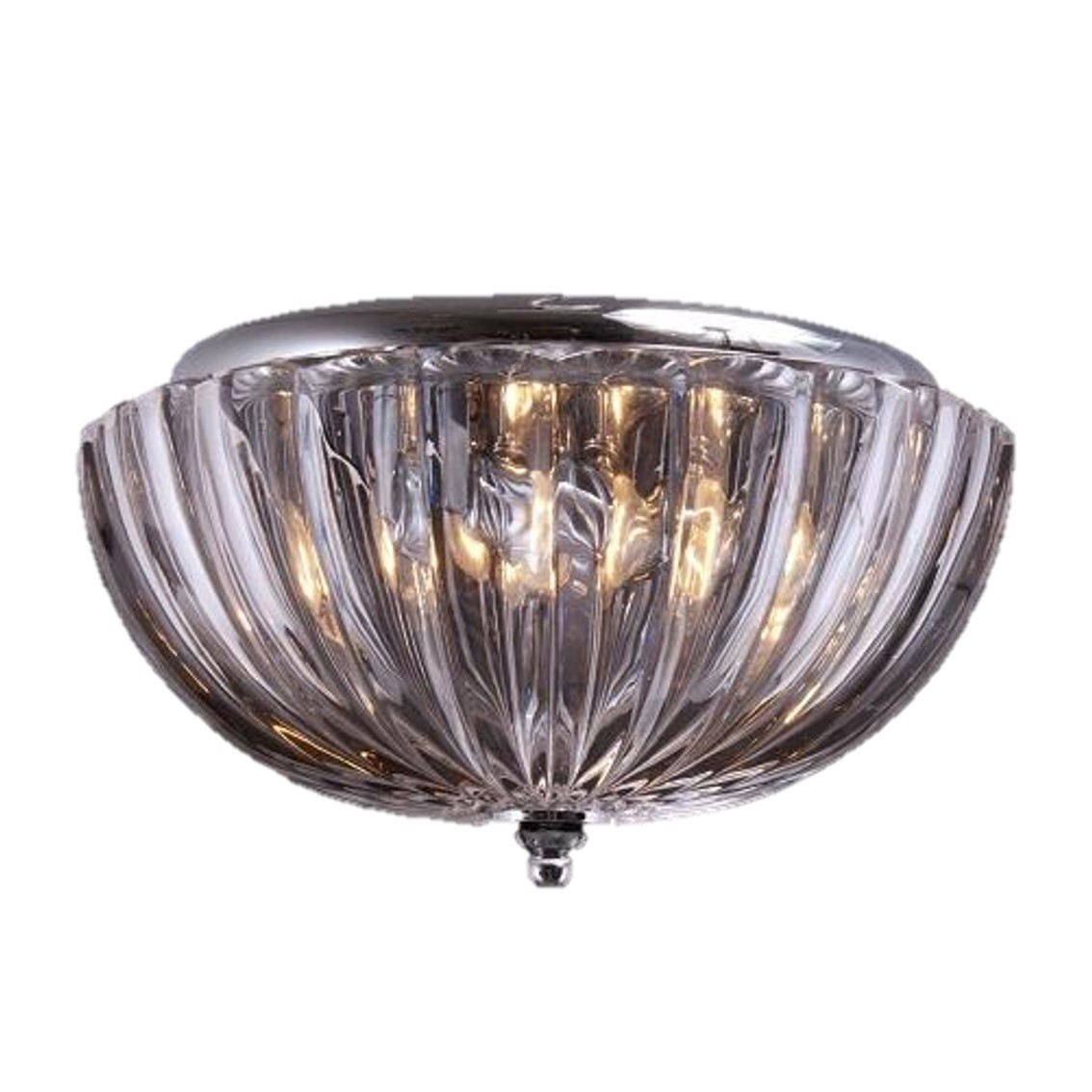 TTSC630161-30CM-Umbrella Crystal/ Brown Ceiling