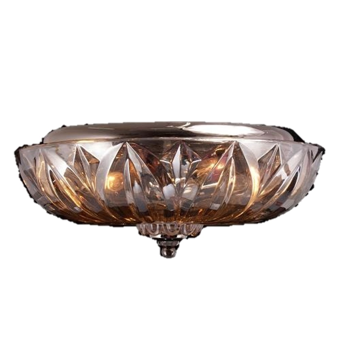 TTSC630164-40CM-Parachute Crystal/ Brown Ceiling