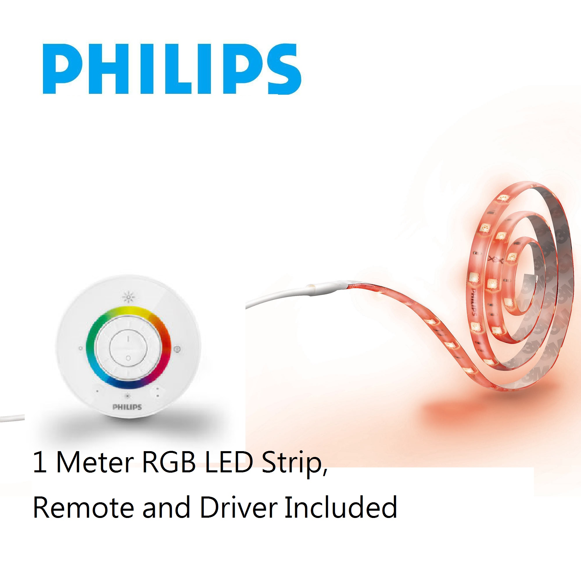 -30905-1M,Color LED Strip,Remote Driver Set
