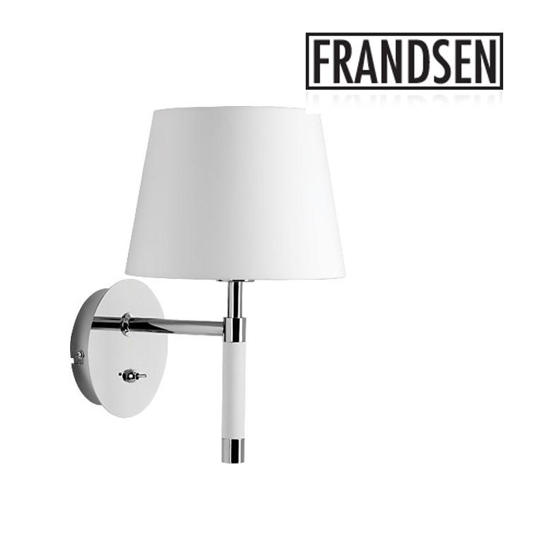 -Venice-White Metal Wall Lamp