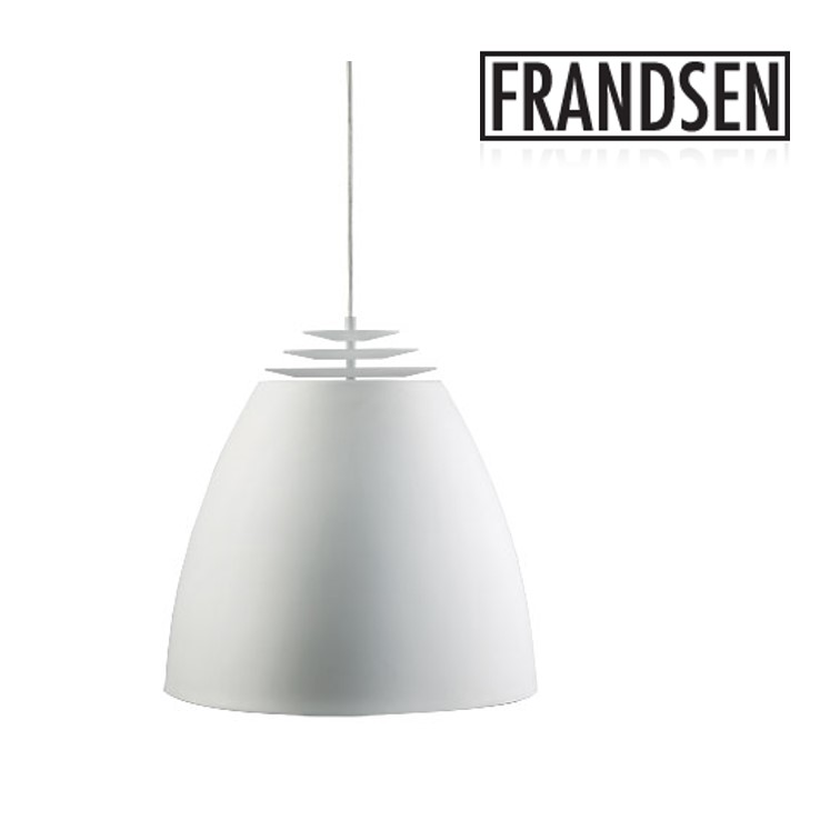 -Buzz One-White Metal Pandant Lamp