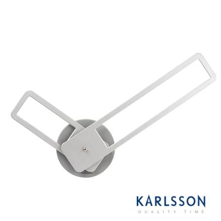 KA5389SI-Little Big Time Rectangle Aluminium