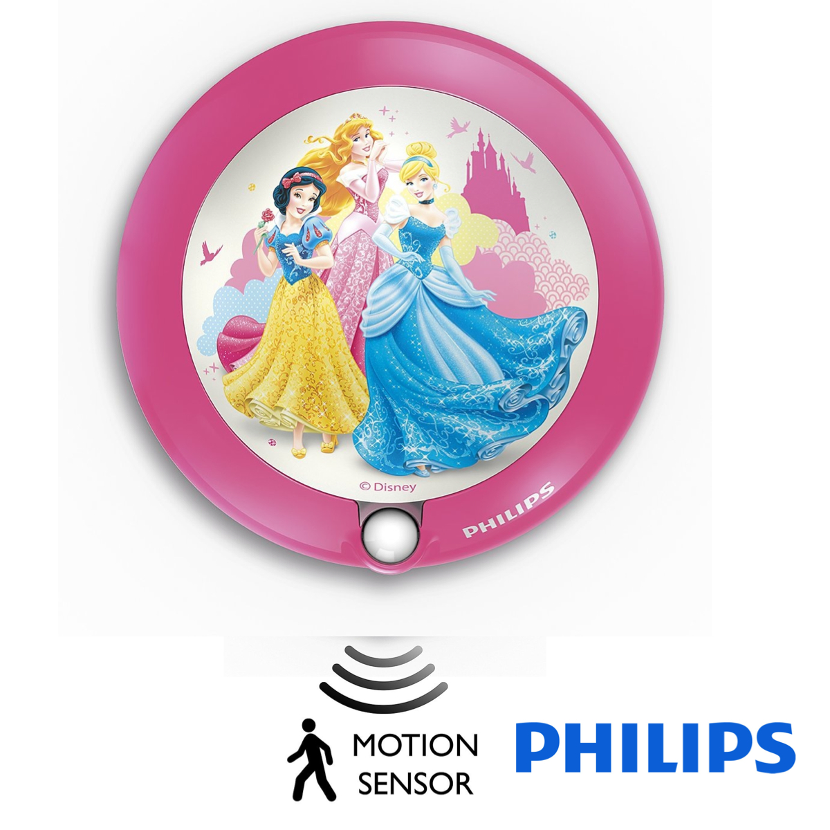- 71765/28 LED Night Light Princess Pink