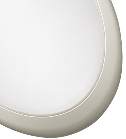 - LOMBARDO CLASS OVAL 280 (IP65) - LB59421 White