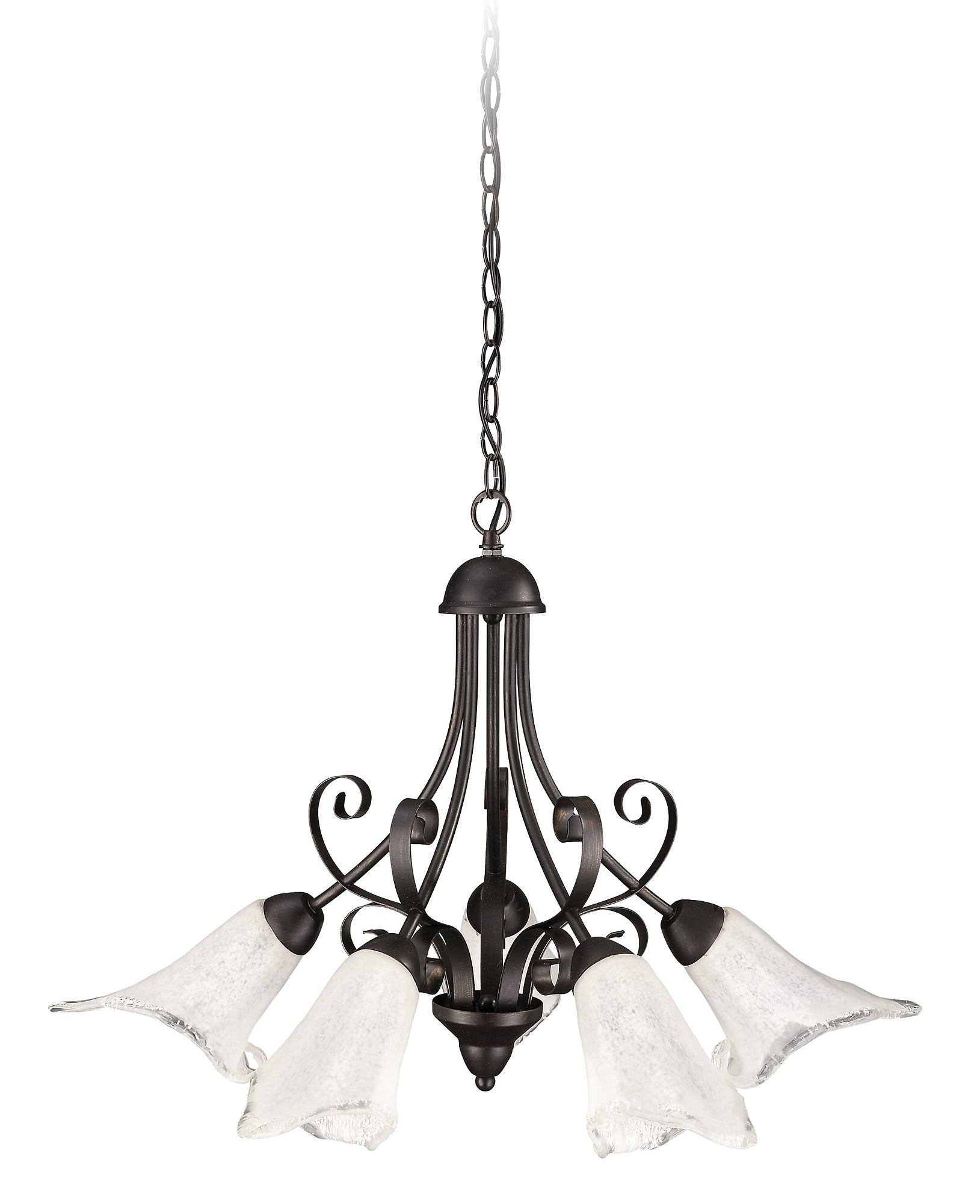 - Roomstylers - 37551 Bk Brushed Classic pendant