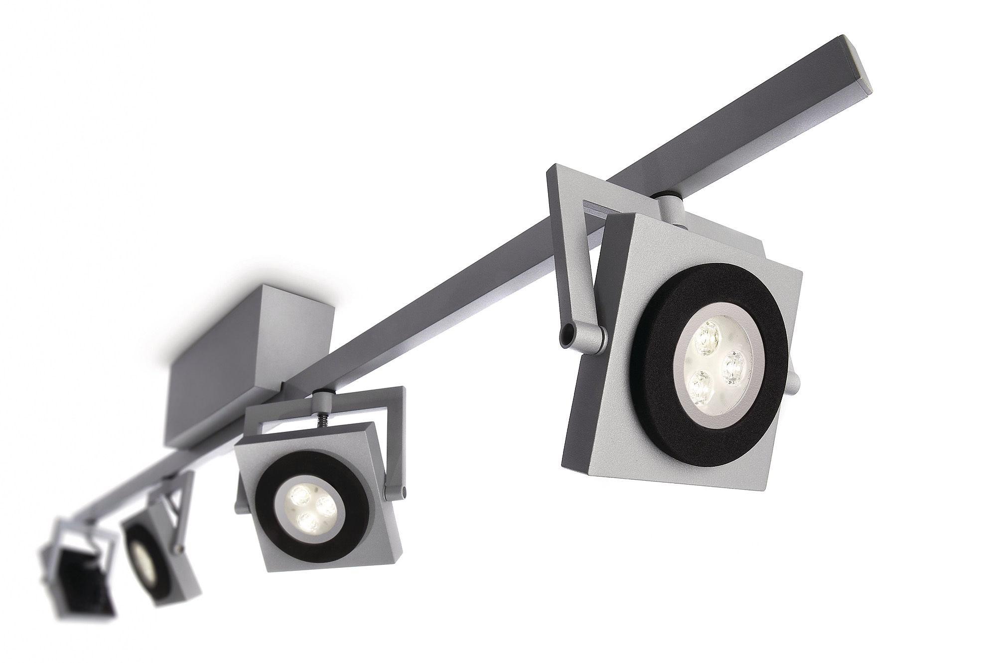 - LEDino - 69084 Grey LED Ceiling Spot