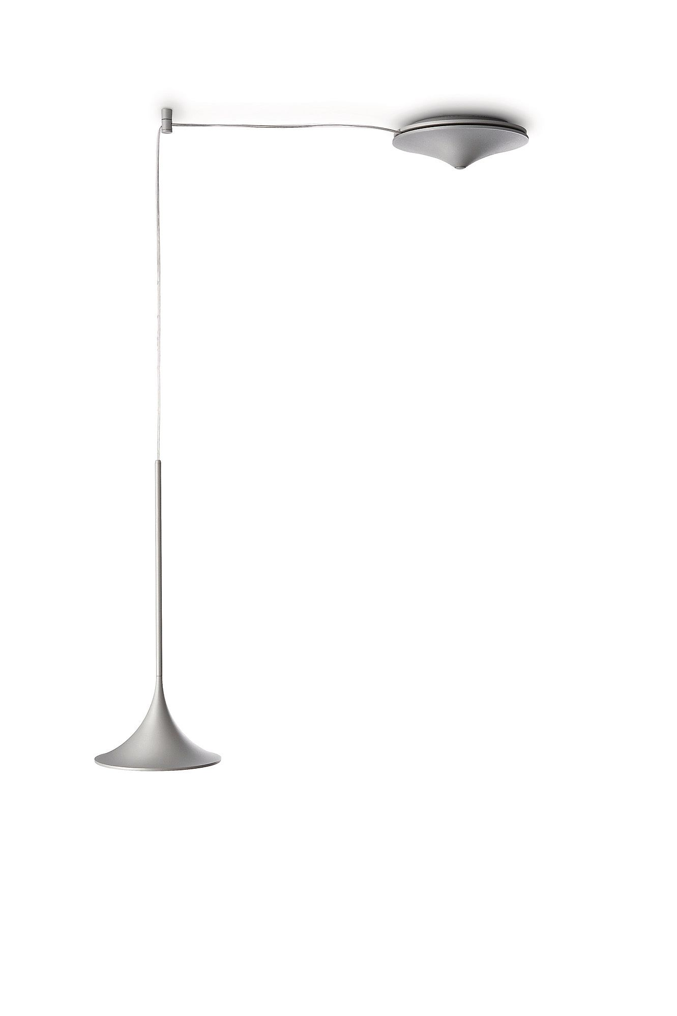 - LEDino - 69061 Single Grey pendant