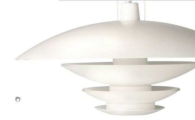 - Roomstyler-40424 White Pendant