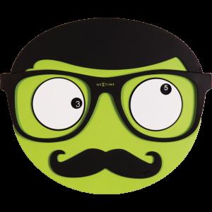 eyeglasses designer  with his eyes