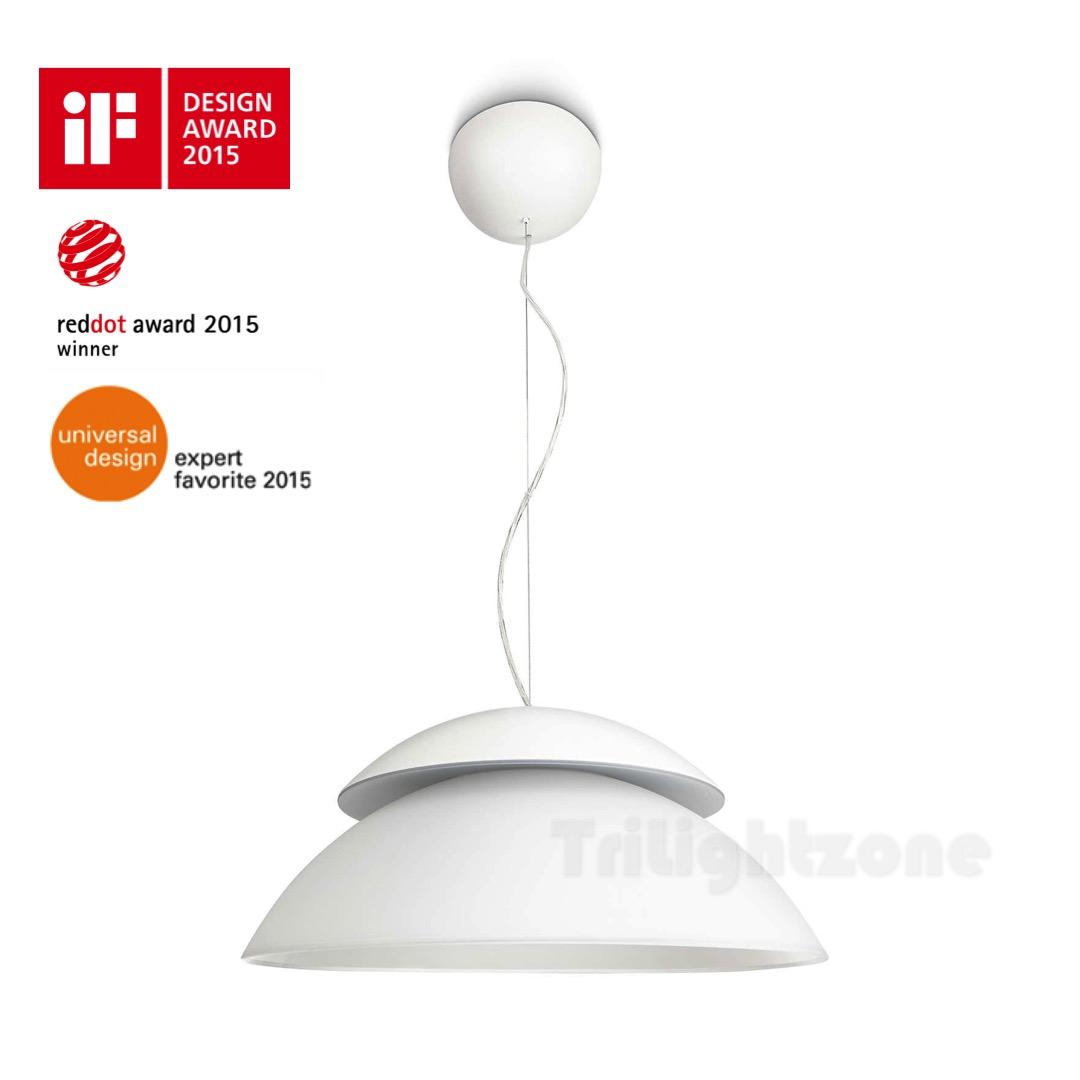 71200 Hue Beyond Pendant Lamp White Thumbnail