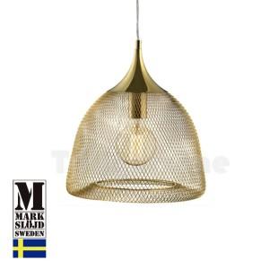 Markslojd 105979 Gold Grid Pendant Light Thumbnail