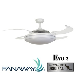 Fanaway EVO2 White 收合扇 tn