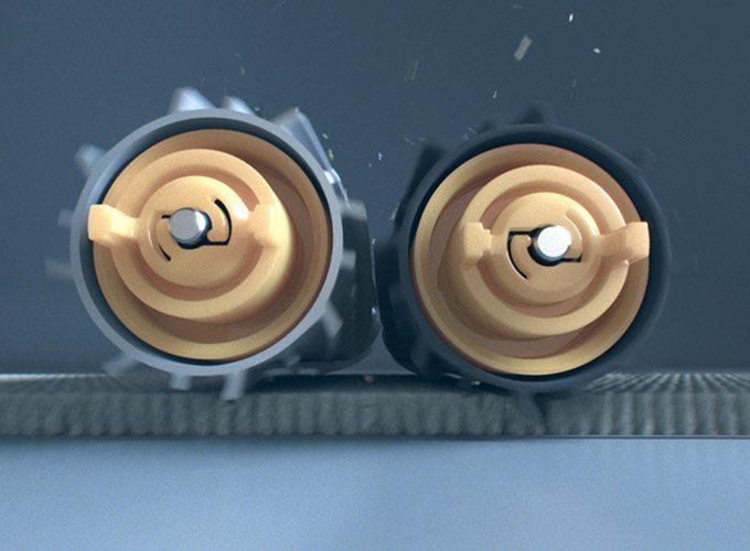 iRobot-Roomba-breaks-down-dirt