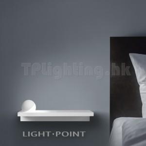 268217-WH TRIXY Powdered White 4W LED Ball Head