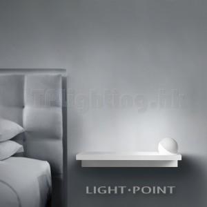 268220-WH TRIXY RIGHTPowdered White 4W LED Ball Head