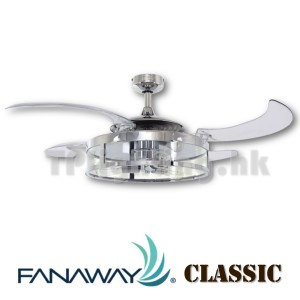 212926 classis fanaway brushed nickel open