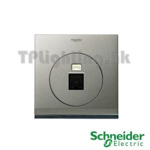 schneider ulti 1 gang tel and data socket(rj45) cat 6-udc31rj_xbs
