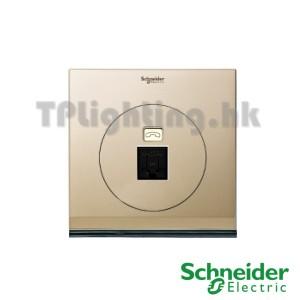 schneider ulti 1 gang tel and data socket(rj45) cat 6-udc31rj_xcg