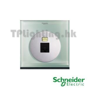 schneider ulti 1 gang tel and data socket(rj45) cat 6-udc31rj_xgl