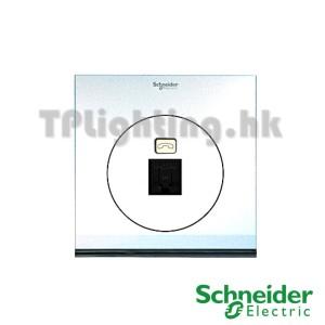schneider ulti 1 gang tel and data socket(rj45) cat 6-udc31rj_xpw