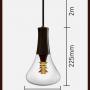 plumen 003 designer light bulb LED 6.5W