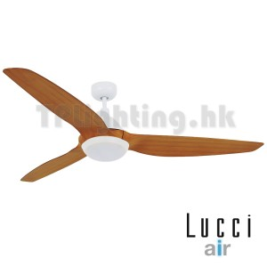lucci air ceiling fan 風扇燈 Type A white motor teak with light