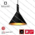 shiek 3.0 black gold e27 wever & ducre led pendant lamp lighting