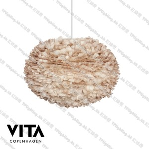 vita lighting 2089_Eos_large_light_brown_white_cord