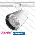 Zenia track light LED 30W 209d-wh