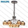 40945_myliving dew glass chrome pendant lamp