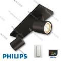 53092 runner black philips hue led ceiling light