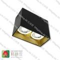 GD-30-1802BG Black surface gold inner aluminium surface mount spot light