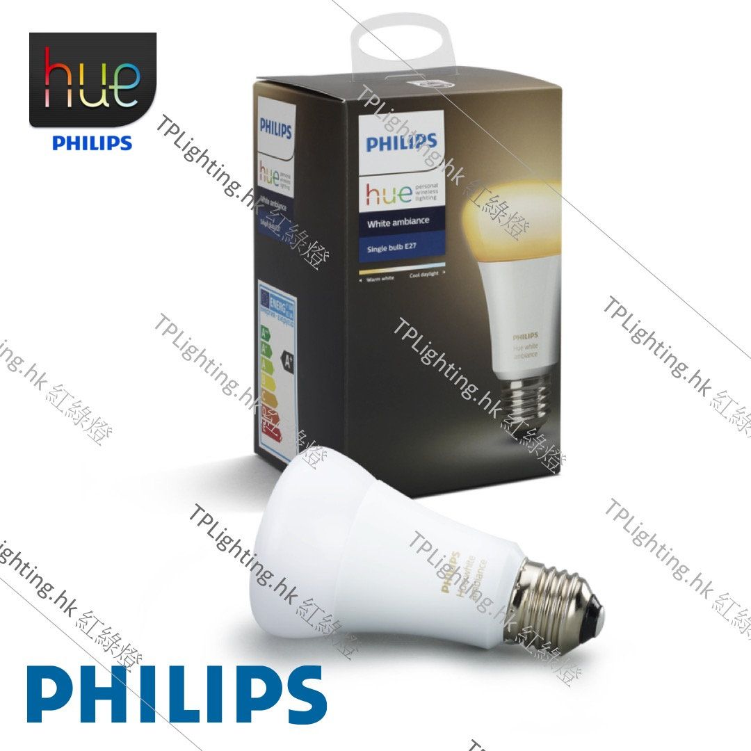 philips hue 2 0 9 5w led e27 22k 65k white ambiance trilight zone lighting outlet. Black Bedroom Furniture Sets. Home Design Ideas