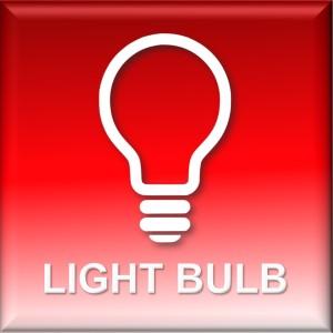 led light bulb icon for tp lighting hk WH