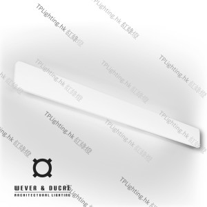 wever ducre MILES-9_0-white-texture wall lamp