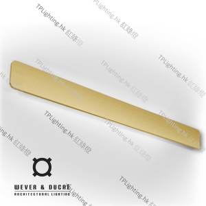 wever ducre MILES_9_0_gold wall lamp