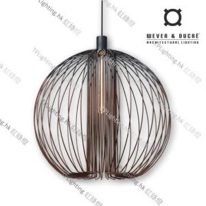 GLOBE_1.0_BLACK+RUST wever ducre suspension lighting