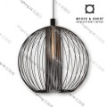 GLOBE_1.0_BLACK wever ducre suspension lighting