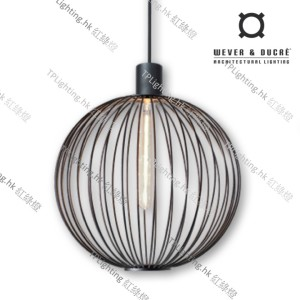 wever ducre suspension lamp GLOBE_4.0_BLACK
