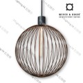 wever ducre suspension lamp GLOBE_4.0_RUST
